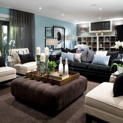 Die Besten 25+ Schwarze Couch Dekoration Ideen Auf