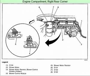 2001 Chevy Venture Fan Relay Switch Location