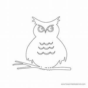 Free Halloween Themed Printable Stencils | Free Printable ...