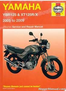 Yamaha Ybr125 Xt125r  X Haynes Motorcycle Service Manual