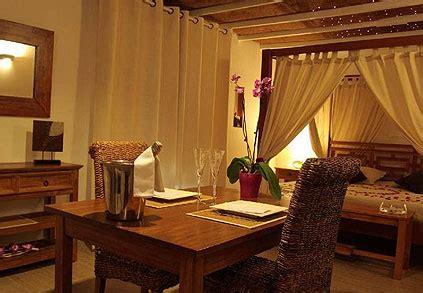 week end romantique avec dans la chambre hébergement romantique la paillote exotique idées