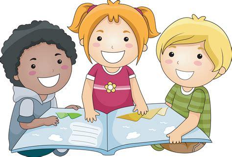 Children Sharing Clipart