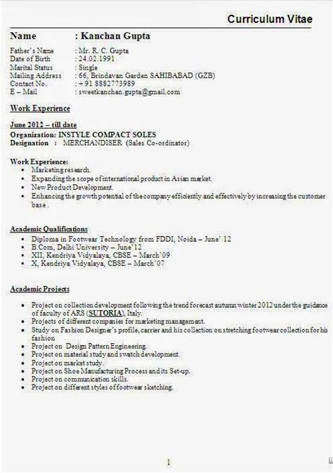 Cv Outline by Como Es Un Curriculum Hashtoken Net
