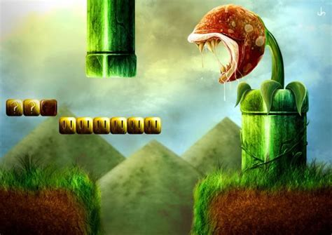 Vinny Kumar A Touch Of Realism For Mario Bros And Donkey