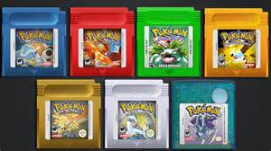 pokemon games for gba