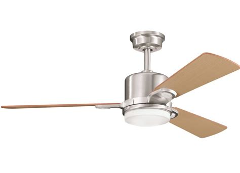 kichler ceiling fans remote control not working kichler 300017bss brushed stainless steel 48 quot indoor
