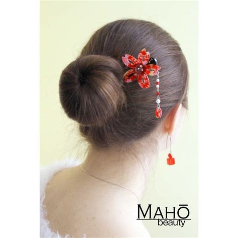 Japanese Hairstyles Buns by Japanese Hair Accessory Modern Kanzashi Hairpin