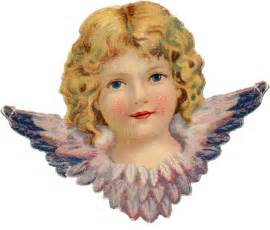 Free Victorian Christmas Angels