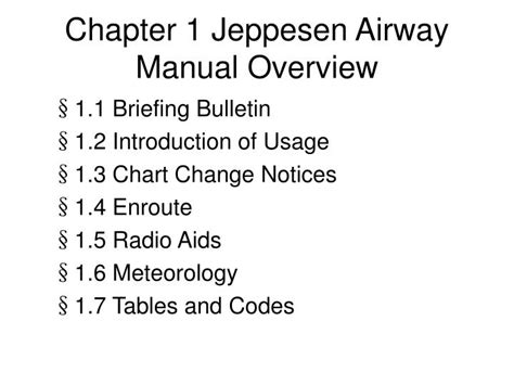 ppt jeppesen charts powerpoint presentation id 1053303