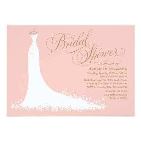Evites Bridal Shower - bridal shower invitation wedding gown invitation