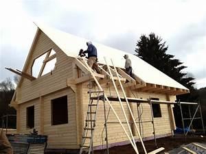 Aufbau Dämmung Dach : blockhaus aufbau teil 2 silvanus ~ Whattoseeinmadrid.com Haus und Dekorationen