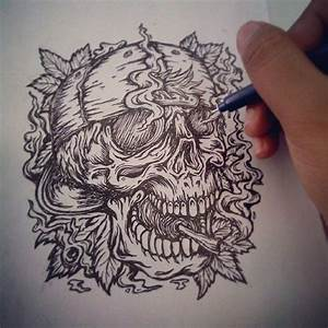 38 best Space Weed Smoke Tattoos images on Pinterest ...