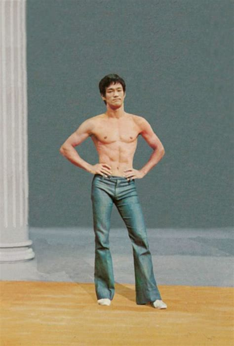 Bruce Lee Celebrities That Workout Pinterest Sexy