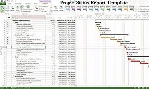 Microsoft Project Status Report Template