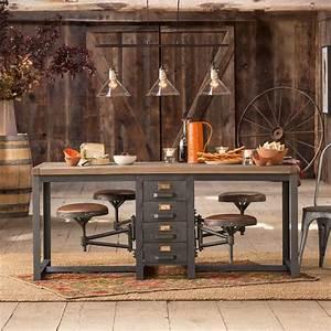 antique rustic furniture Cafeteria Table Antique Rustic