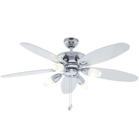 Ceiling Fan Capacitor Home Depot by Westinghouse Panorama 52 In Chrome Ceiling Fan 7255900