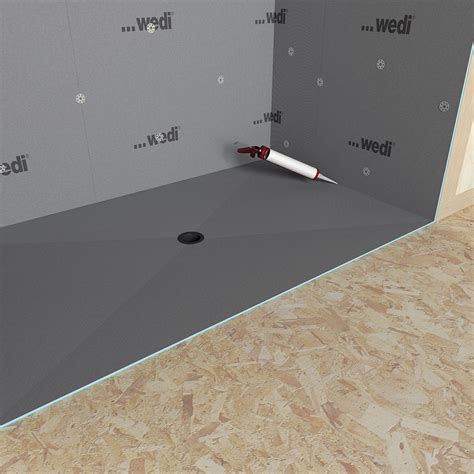 shower base for tile wedi fundo ligno curbless shower genesee ceramic tile