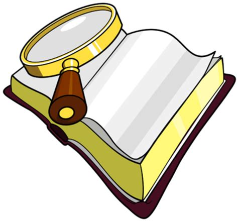 Bible Magnifying Glass Clip Art