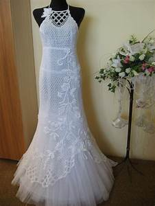 Free crocheted wedding dress pattern crochet tutorials for Wedding dress patterns free
