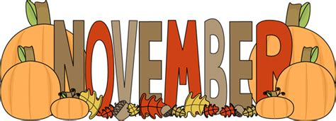 month of november autumn clip month of november autumn image