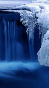 wallpaper lake 4k hd wallpaper waterfall water snow