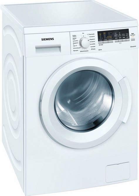 siemens waschmaschine wm14p420 7 kg 1400 u min otto