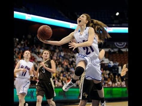class  girls basketball state final st paul thomaston