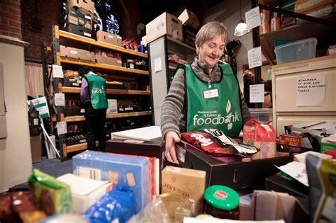 million britons  food banks
