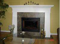 great contemporary fireplace mantel Painted Fireplace Mantel - Modern - Indoor Fireplaces - Toronto - by Kurtz Millworks