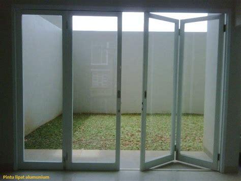 tirai udara jual pintu lipat kaca frameless harga murah jakarta oleh