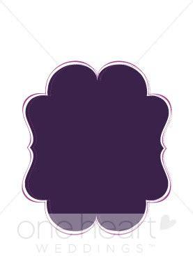 clipart purple wedding bracket wedding borders