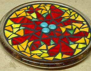 hometalk stained glass mosaic trivet With what kind of paint to use on kitchen cabinets for glass mosaic candle holder