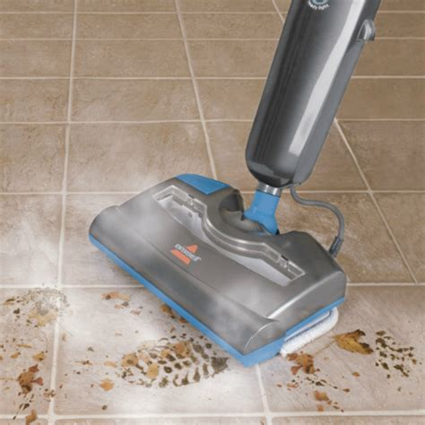 Steam Mop Suitable For Laminate Floors by Bissell 57f4 Combo Sweeper And Steam Clean Mop With