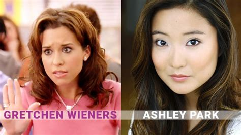 ashley park playbill what you need to know about the cast of broadway s mean