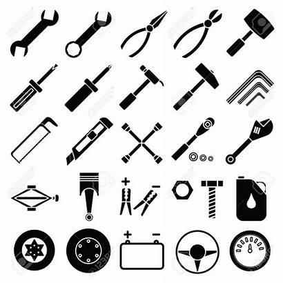 Mechanic Tools Clipart Automotive Clip Meccanico Vektor