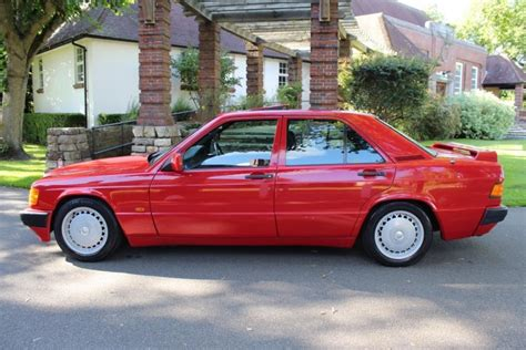 Every used car for sale comes with a free carfax report. 1989 Mercedes-Benz 190E 2.0 Automatic - Classic Car Auctions