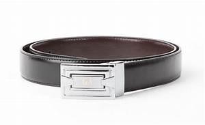 Authentic Giorgio Armani Reversible Italian Leather Belt ...