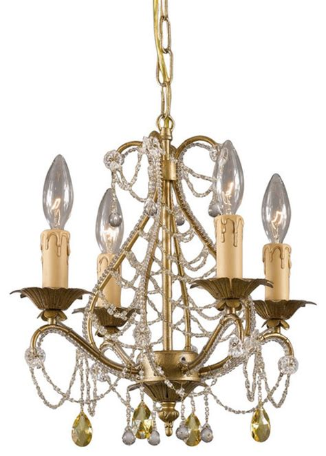 on sale gold leaf wrought iron mini chandelier with murano