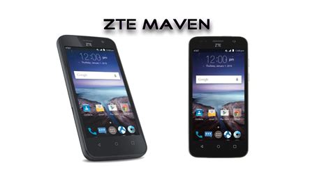at t no contract phones at t gophone zte maven 4g no contract phone review