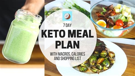 ketogenic diet meal plan  day full meal plan
