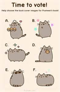 pusheen the cat book hardest decision which of these pics should pusheen