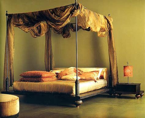 wood canopy beds kerala home design  floor plans