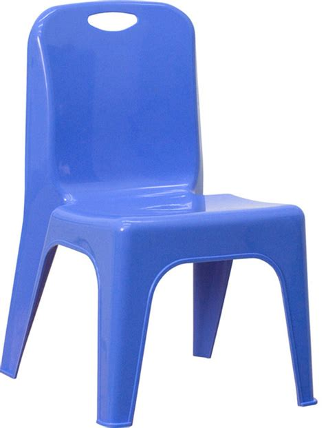 flash furniture blue plastic stackable school chair