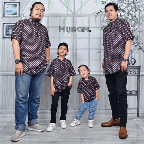 Baju Muslim Koko Pria Ayah Anak jual baju koko ayah anak toko nairaolshop net