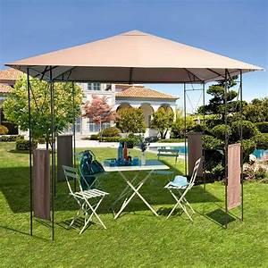 Tonnelle de jardin 4 x 4 for Nice abri de jardin bois pas cher leroy merlin 14 tonnelle en fer forge d occasion