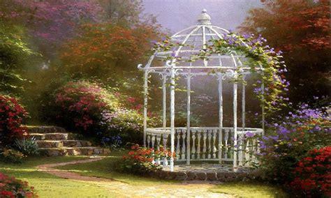 garden of grace garden gate floral garden gate kinkade paintings