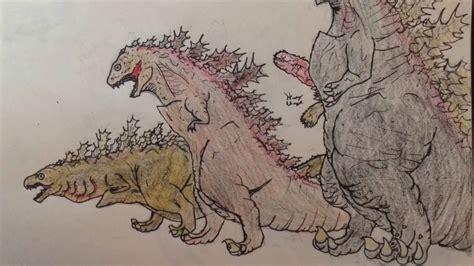 Shin Godzilla Evolution Timelapse