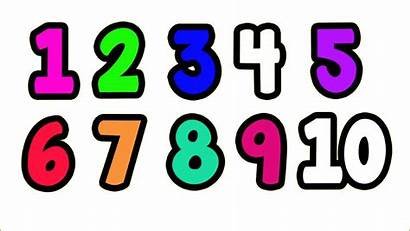 Numbers Transparent Number Clipart Natural Counting Clip