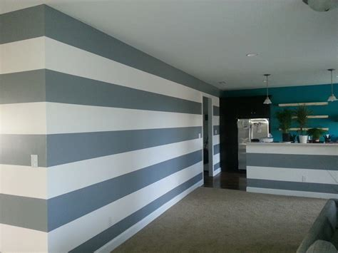 Wand Streichen Streifen Horizontal by Ideas For Painting Stripes On Walls