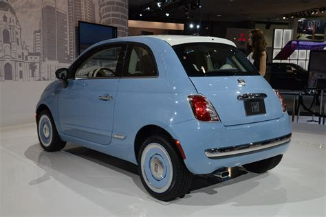 2018 Fiat 500 1957 Edition Picture 533521 Car Review